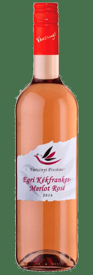 Varsányi Pincészet - Egri Kékfrankos – Merlot Rosé bor