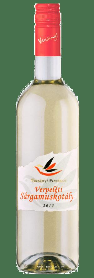Varsányi Pincészet - Sárgamuskotály - fehér bor