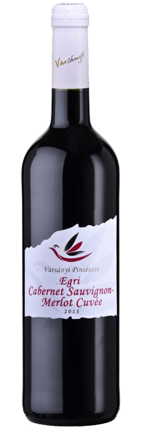 Varsányi Pincészet - Egri Cabernet Sauvignon – Merlot Cuvée vörös bor