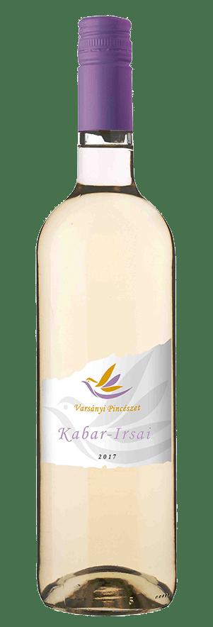 Varsányi Pincészet - Kabar – Irsai fehér bor